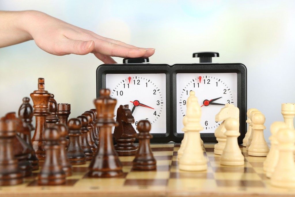 What the rules for using a Chess Clock?